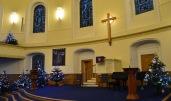 Tour Scotland Photograph Christmas Tree Parish Church of St Andrew and St Georg Edinburgh