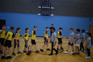 Dalry meet opposition Basketballers